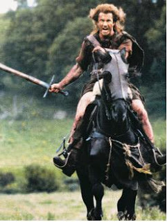 Picture of Mel Gibson  as William Wallace  from Braveheart   High Quality Photo  A15467